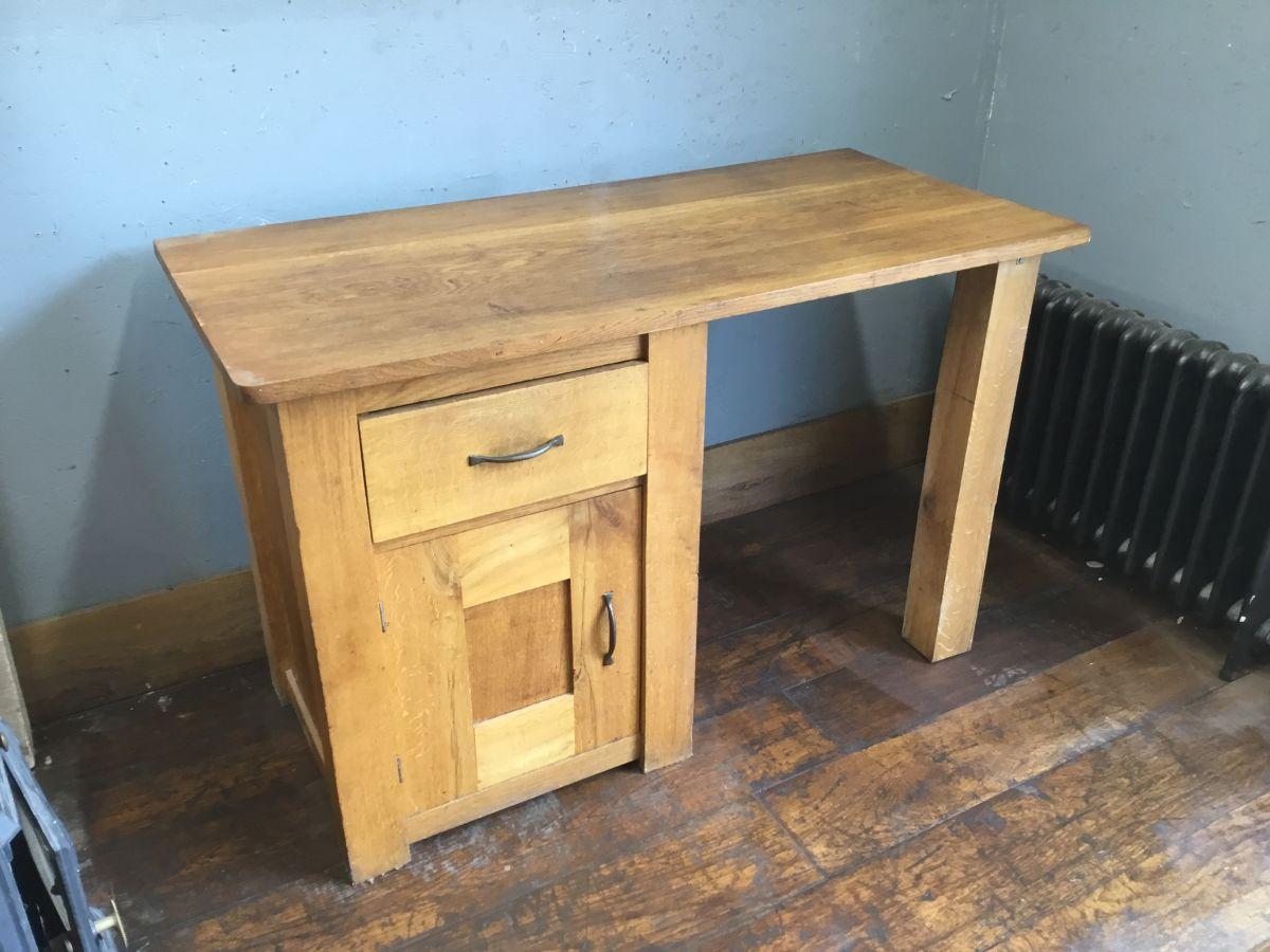 Reclaimed Oak Desk