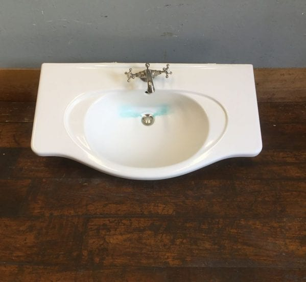 Large Rounded Edged Sink