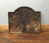 Royal Oak Tree Cast Iron Fire Back