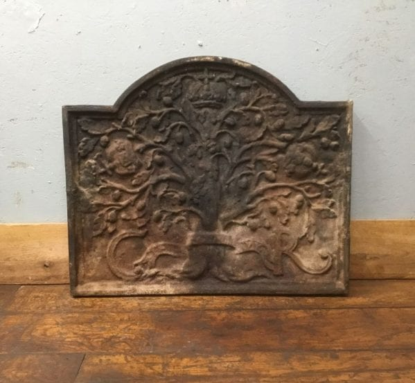 Royal Oak Tree Cast Iron Fire Back
