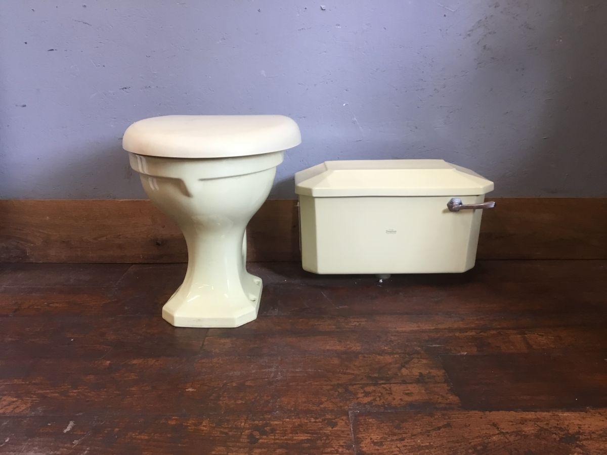 Pale Green Royal Doulton Toilet & Cistern