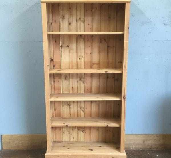 Large Pine Shelving Unit