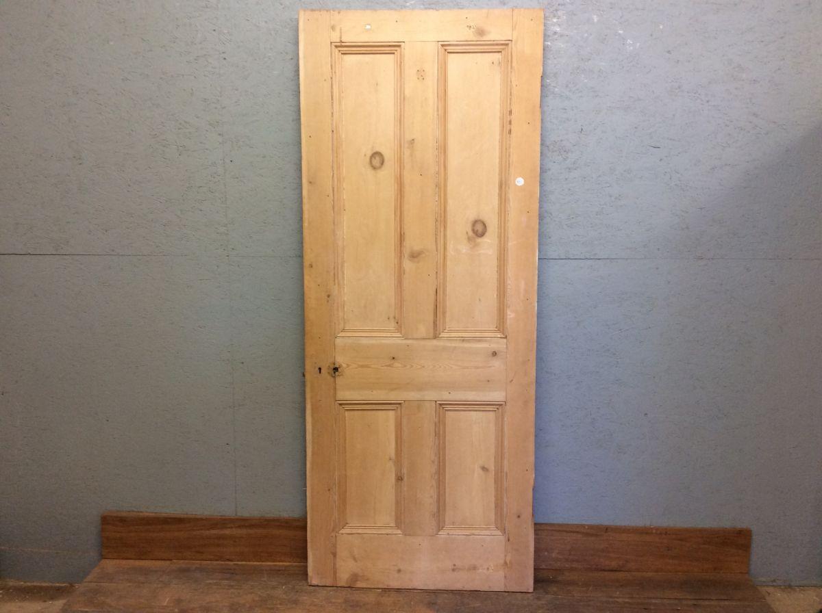 Wide Stripped Authentic Door