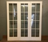Double Glazed White 3x Set of Bi-folding Doors