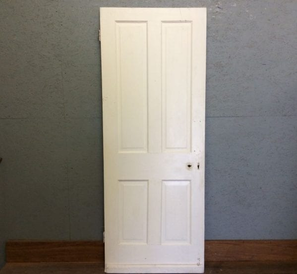 Nice White 4 Panelled Door