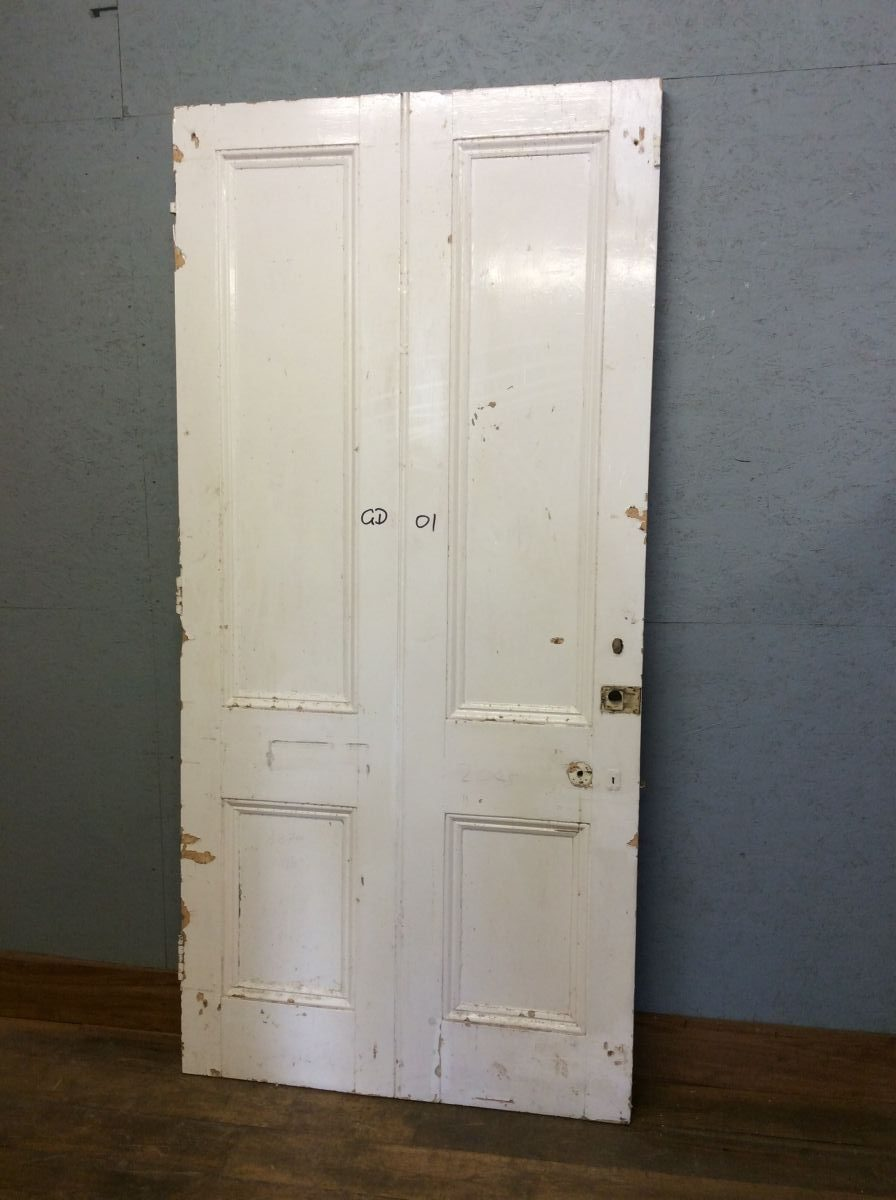 X-Large White 4 Panelled Door