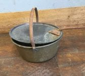 Selection of Copper Pots and Pans