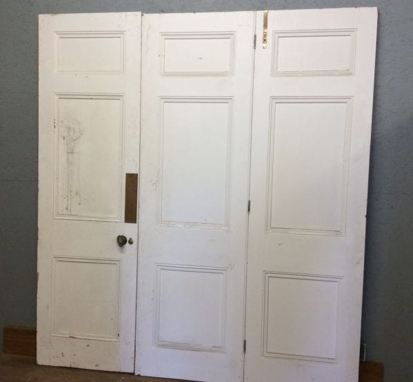White Tri-folding Doors