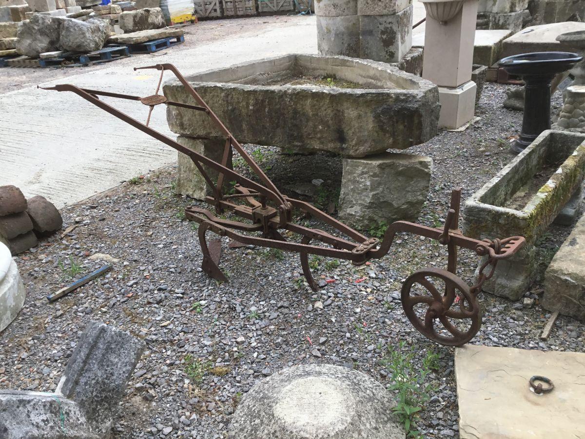 Cast Iron Horse Drawn Plough