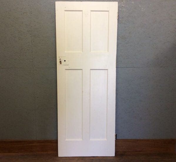 Tall White 4 Panelled Door