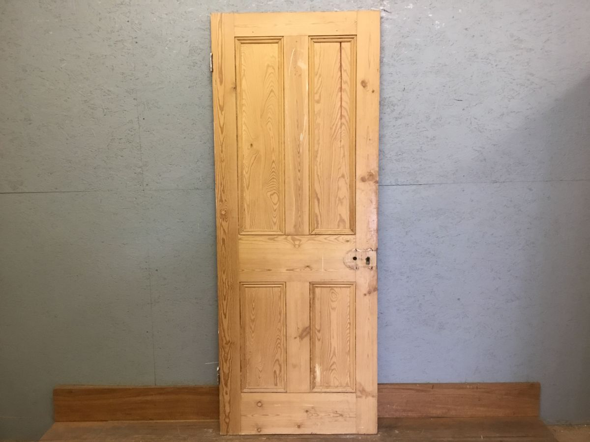 Stripped Four Pan Door -