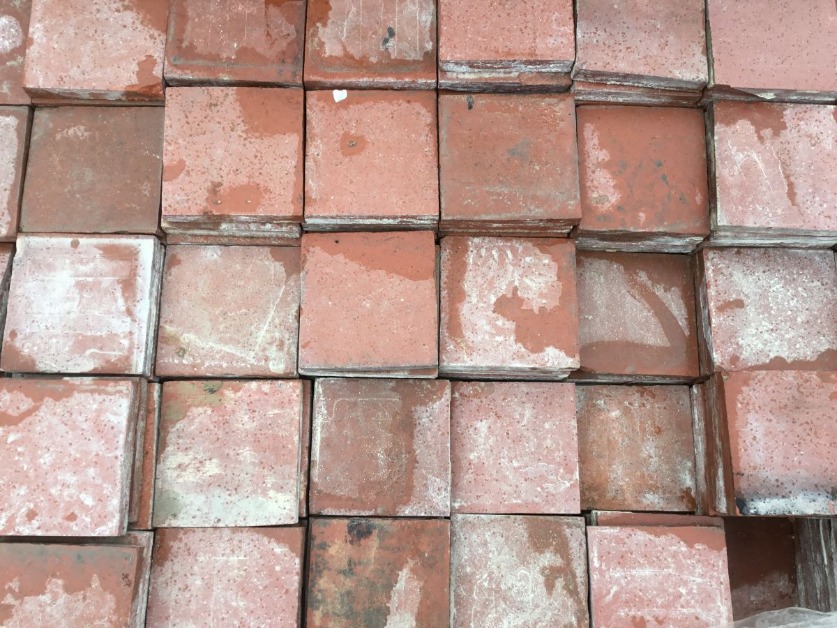 English Red Quarry Floor Tiles
