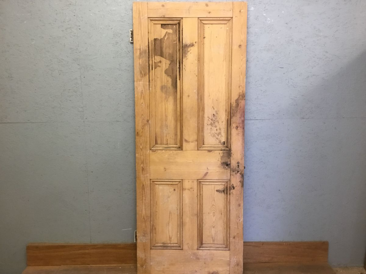 Four Panel Stripped Door