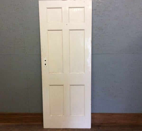 White Smooth 6 Panelled Door