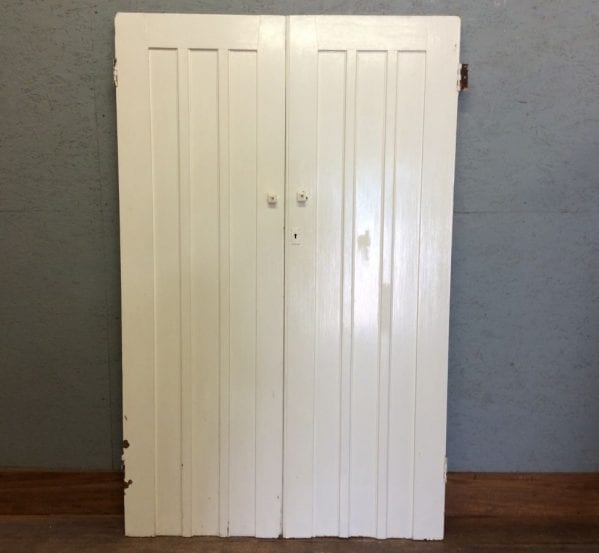 Nice White 3 Panelled Cupboard Doors