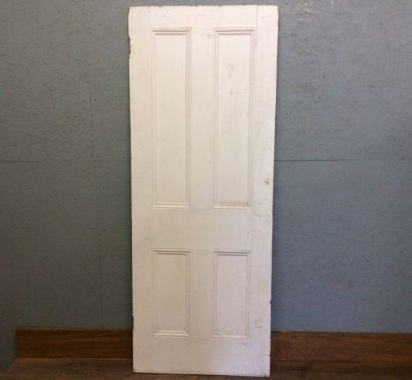 White Four Panel Door