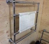 Off The Wall Nice Design Radiator/Towel Rack