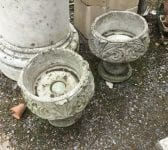 Two Piece Round Planters