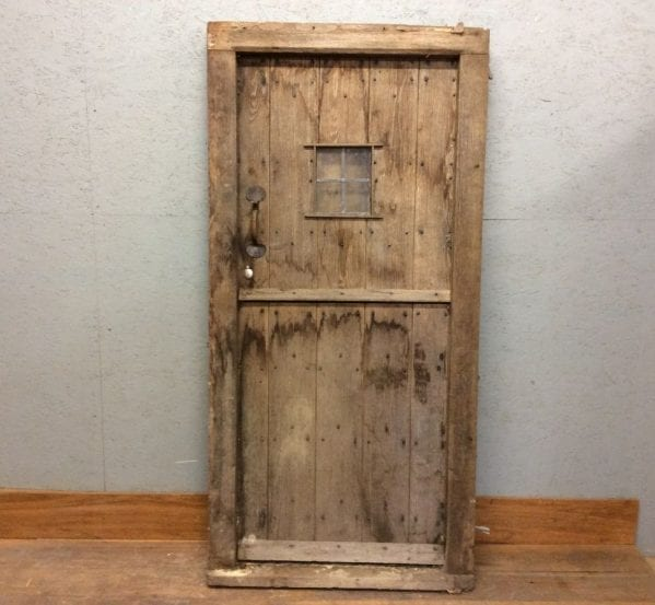 Old Oak Stable Door w Frame