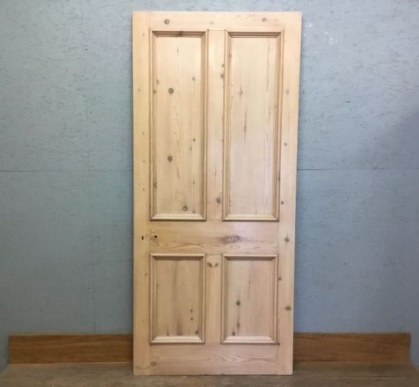 Premiume Stripped 4 Panel Door w Gloss Wax