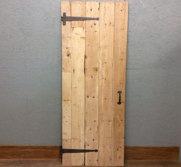 Light Pine Ledge & Brace Door
