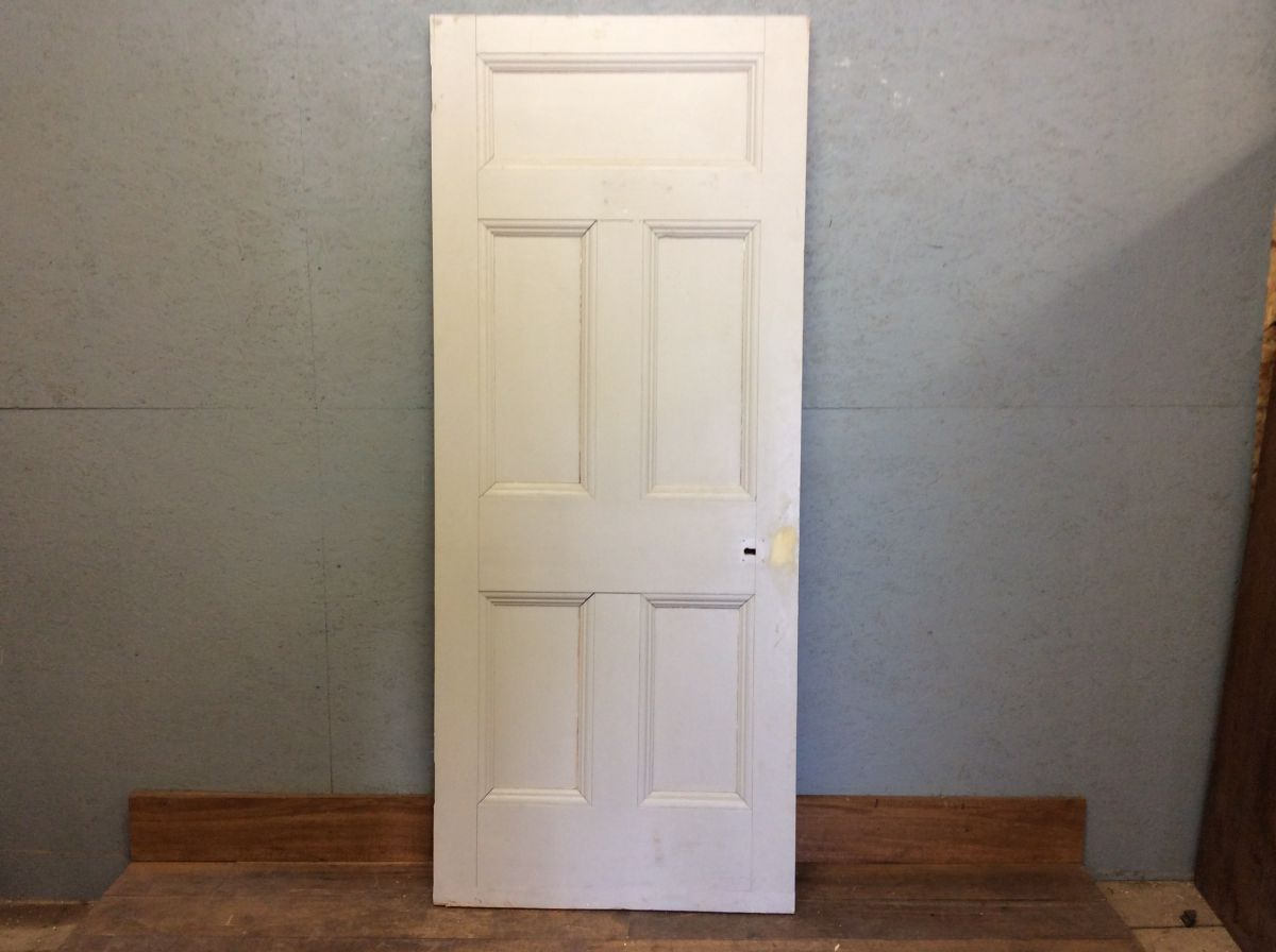 Grey 5 Panelled Door