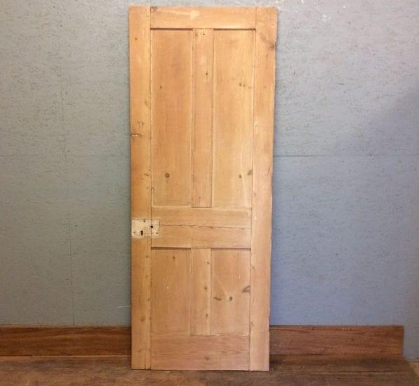 Pine 4 Panel Stripped Door