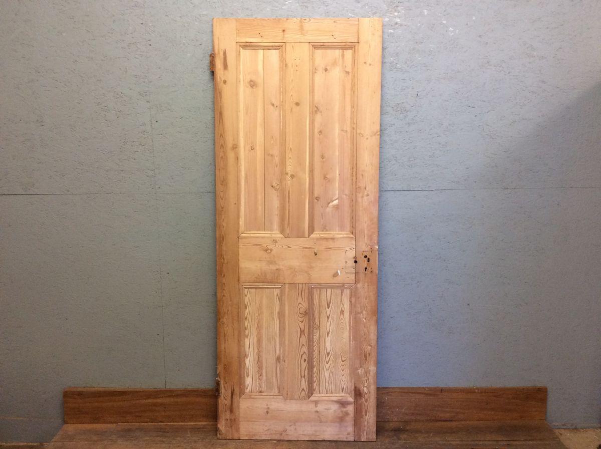 Small Stripped 4 Panel Door