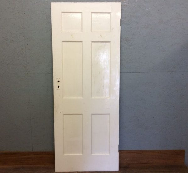 Sml White 6 Panelled Door