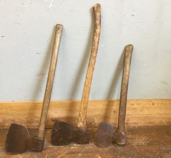 Wooden Handled Axes