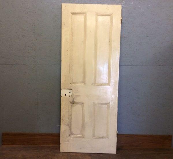 Reclaimed 4 Panelled Door