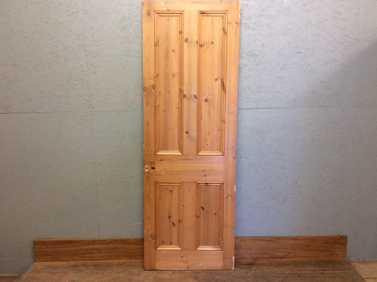 Light Stripped 4 Panel Door