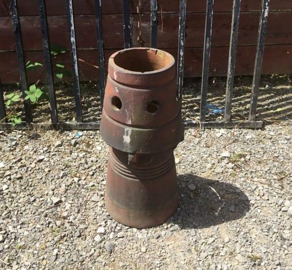 Salt Glazed Buff Chimney Pot
