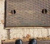 Man Hole Cover Inc Frame XL