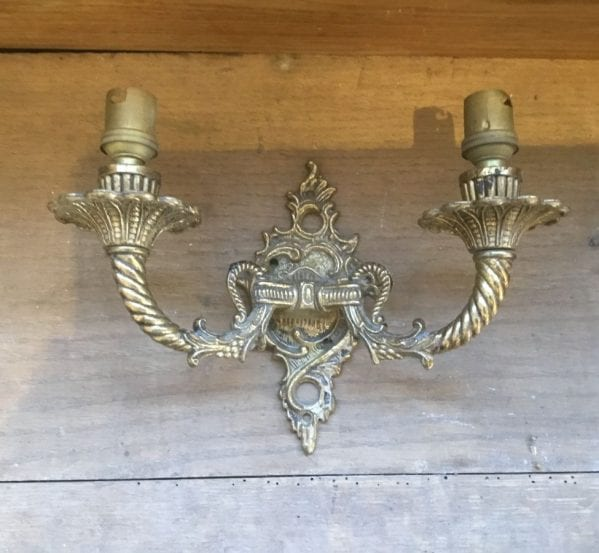 Aged Brass Decorative Up Lighters