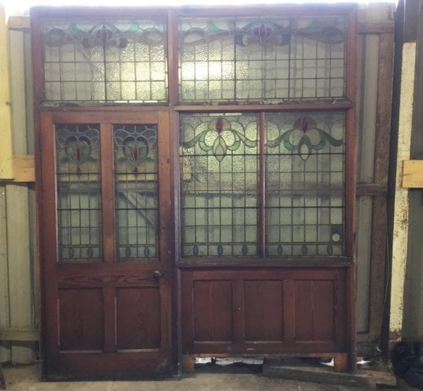 Grande Chapel Pitch Pine Stained Glass Extra-Ordinare