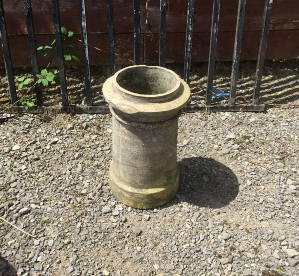 Grey Lipped Cannon Head Chimney POt