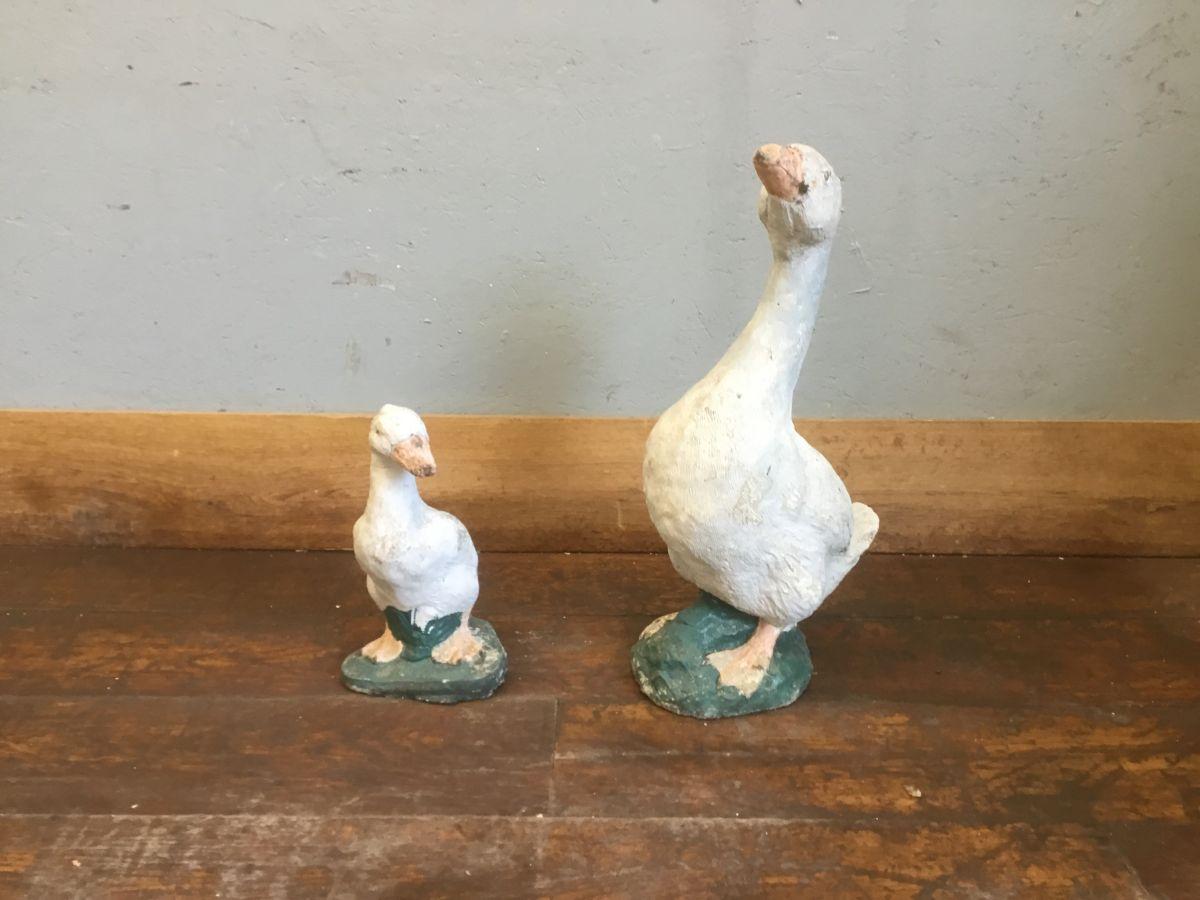 Goose & Gosling Statue