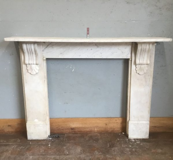 Marble Shell Corbel Fire Surround