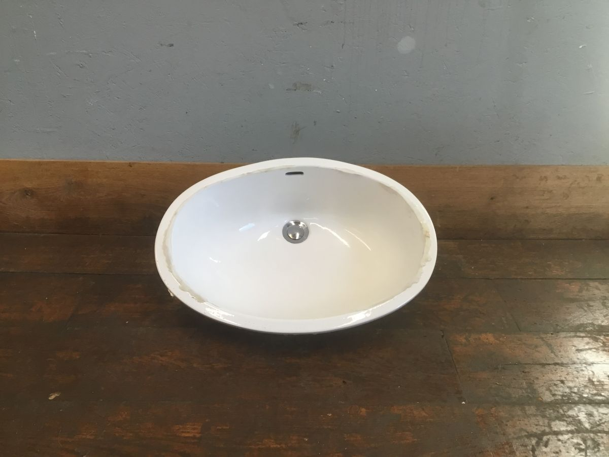 Sleek Oval Basin
