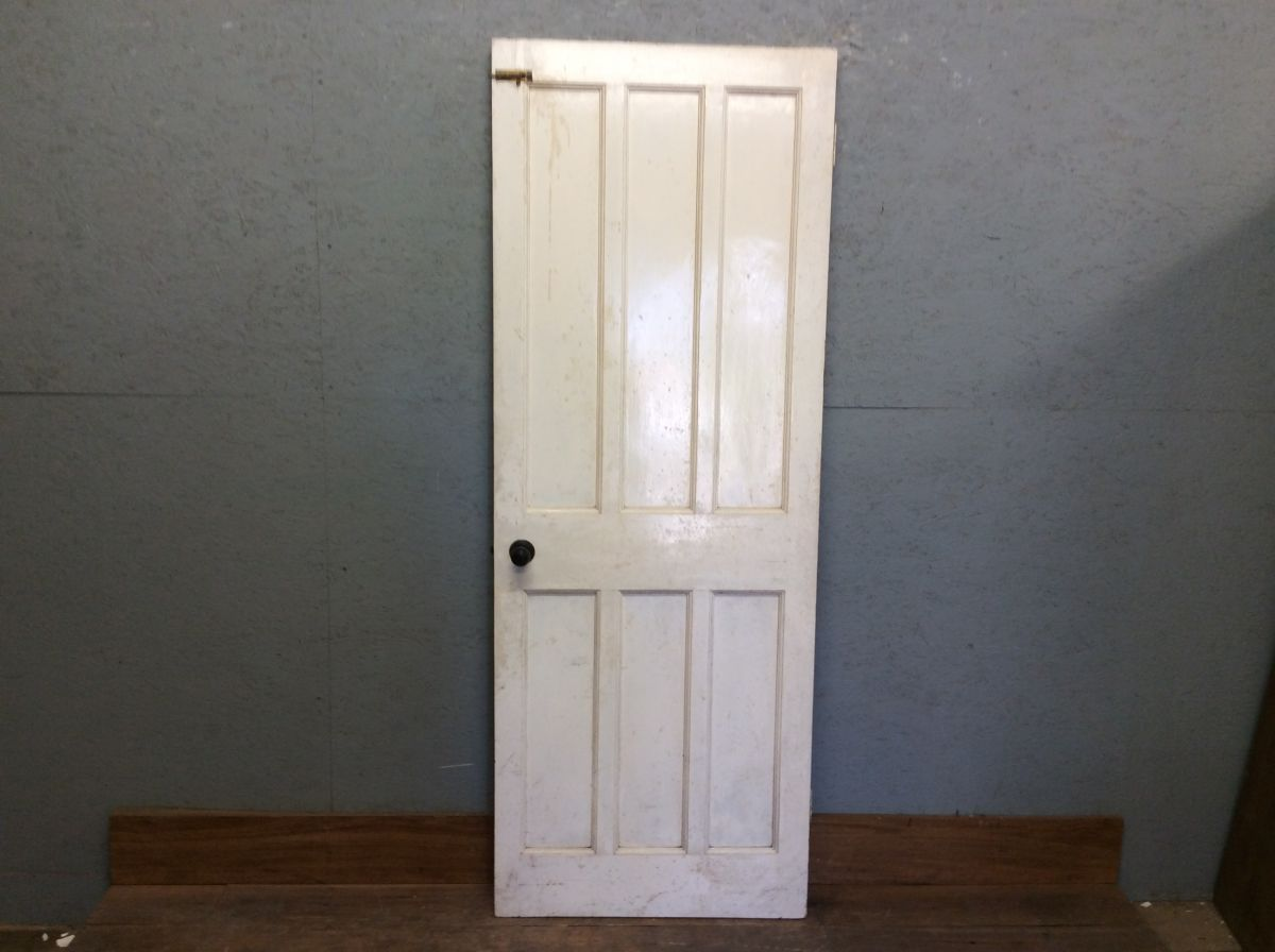 Large White 6 Panelled Door