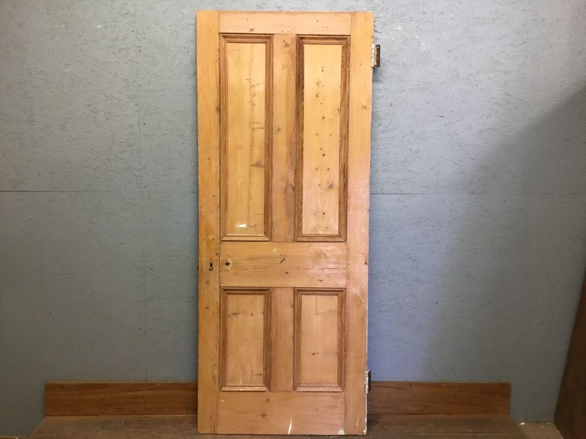 Nice Big Stripped 4 Panel Door