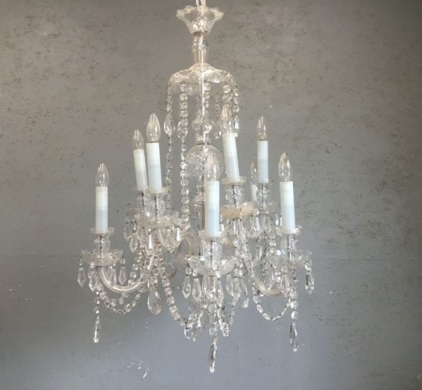 Glorious Glass Chandelier