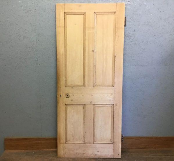 Stripped Four Panel Door