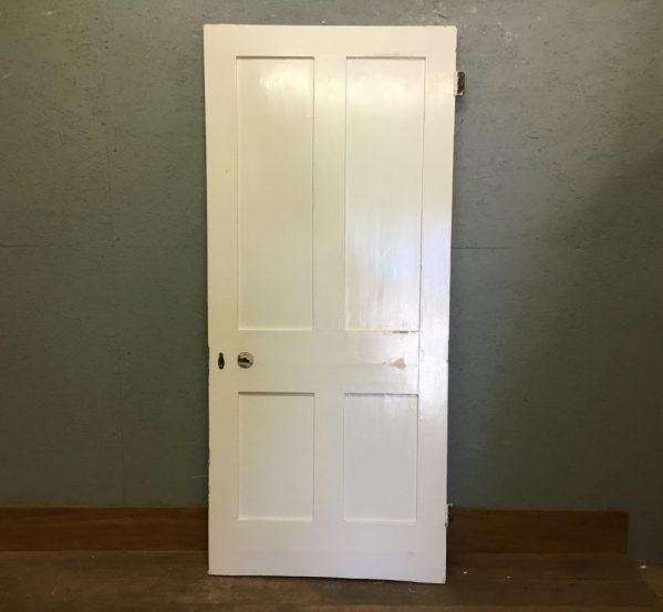 Four Panel Door White