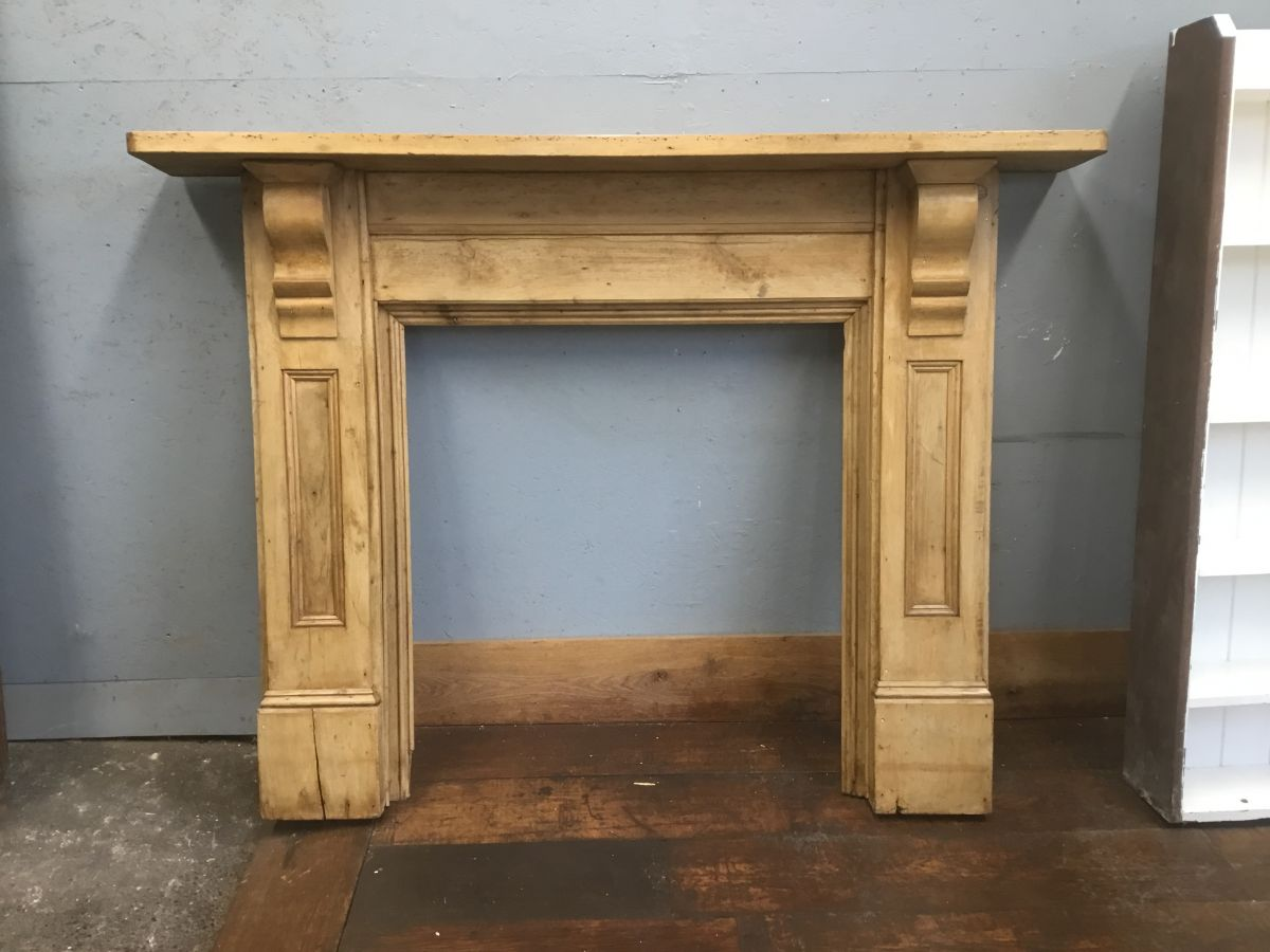 Antique Pine Fire Surround
