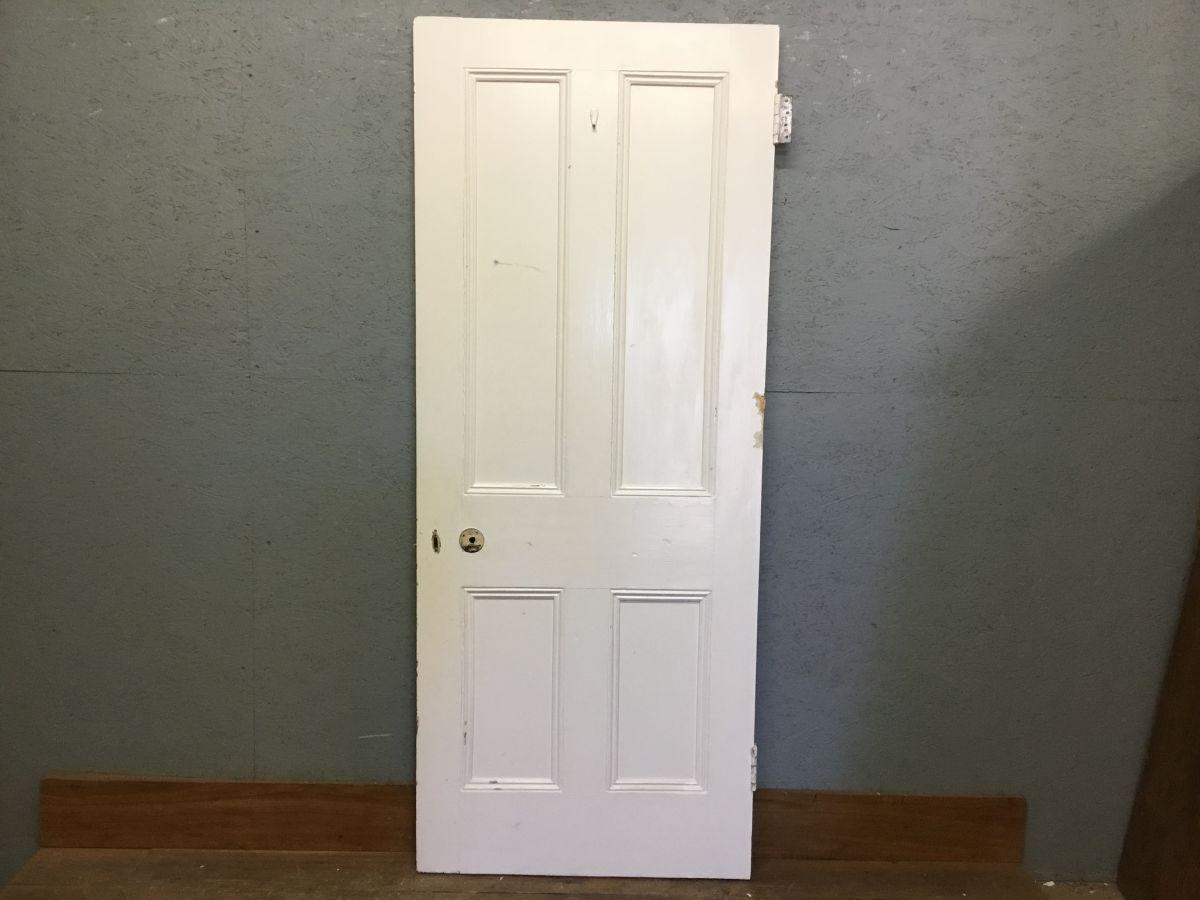 White 4 Panel Dooor