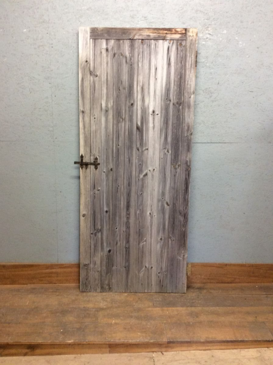 Aged Ledge & Brace Style Door/Gate