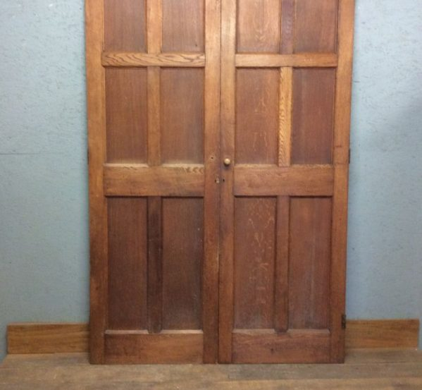 Tall Oak Double Doors
