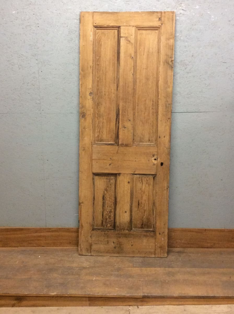 Nice Stripped 4 Panelled Door